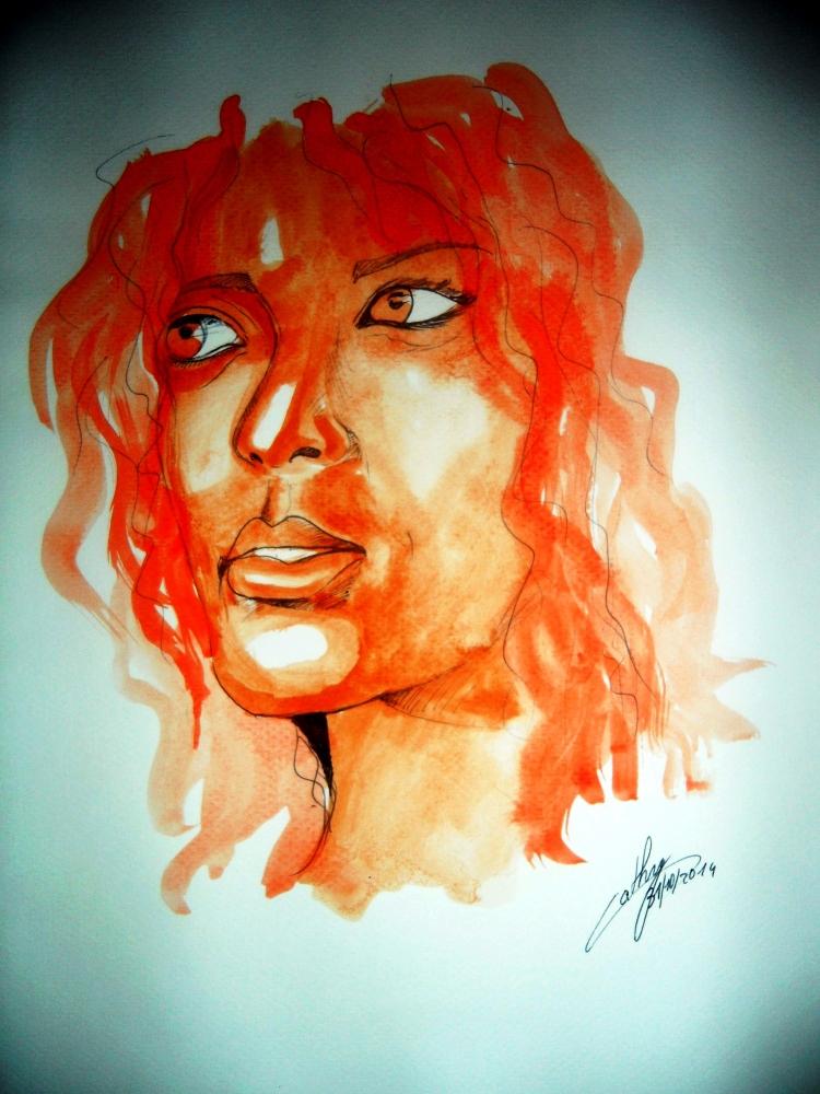 Rihanna by kathy